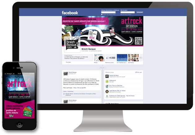 Couverture Facebook Appli mobile