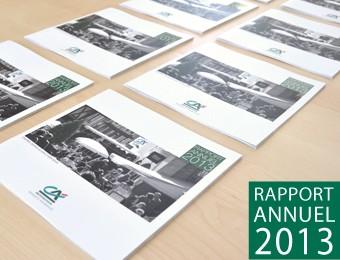 Rapport annuel 2013 du Crédit Agricole du Morbihan